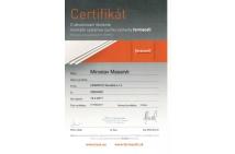 FERMACELL - certifikát na montáž