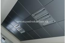 Sadrokartónové riešenie - kovové podhľady 2