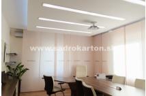 Sadrokartónové riešenie - strop a priečky 5