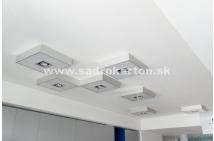 Sadrokartónové riešenie interiéru