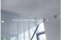Sadrokartónové riešenie - kovové podhľady 12