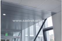 Sadrokartónové riešenie - kovové podhľady 14