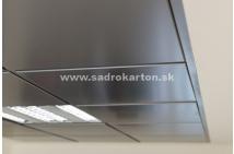 Sadrokartónové riešenie - kovové podhľady 8