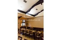 Sadrokartónové riešenie - penzióny a reštaurácie 42