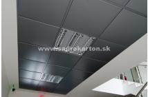 Sadrokartónové riešenie - kovové podhľady 1